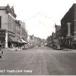 Ave G Looking East, Date Unknown
