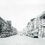 Ave G from 6th Street - 1938