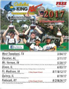 Cabela King Kat Super Fishing Tournament @ Riverview Park | Fort Madison | Iowa | United States